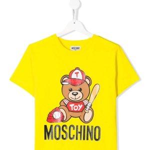 7折起 小熊T恤仅£44Moschino 大童专区超划算上线 超150件14Y小熊单品等你收