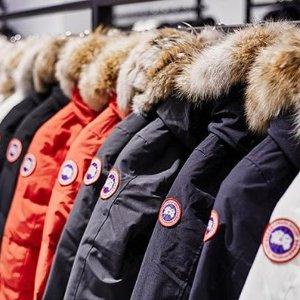 7.5折起+正价无门槛9折Canada Goose 精选大促 一到冬天就抢爆 经典款、独家款全在线