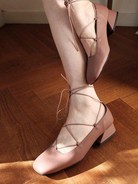 Riri Maple Mori 系带芭蕾鞋
