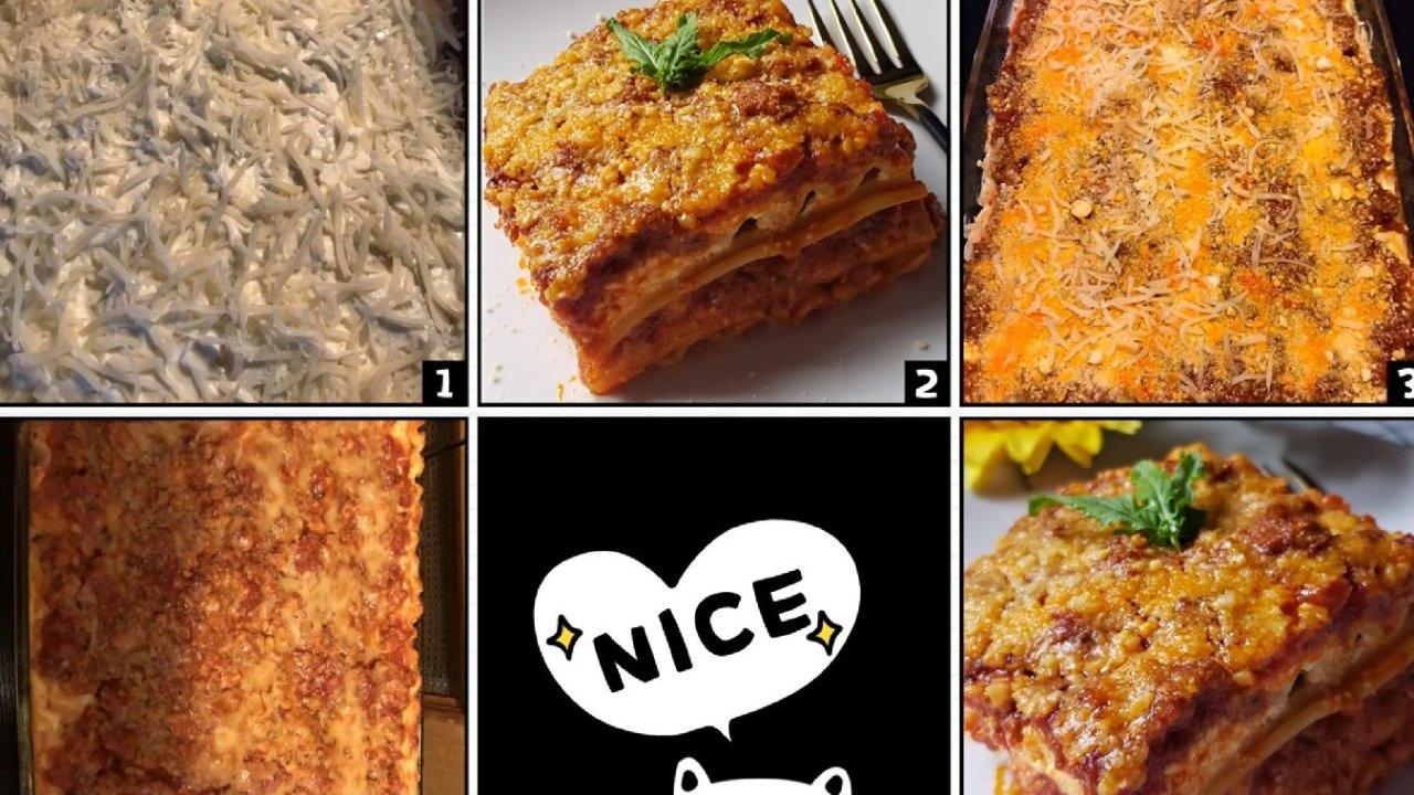 感恩节吃什么之 | Lasagna 意式千层面