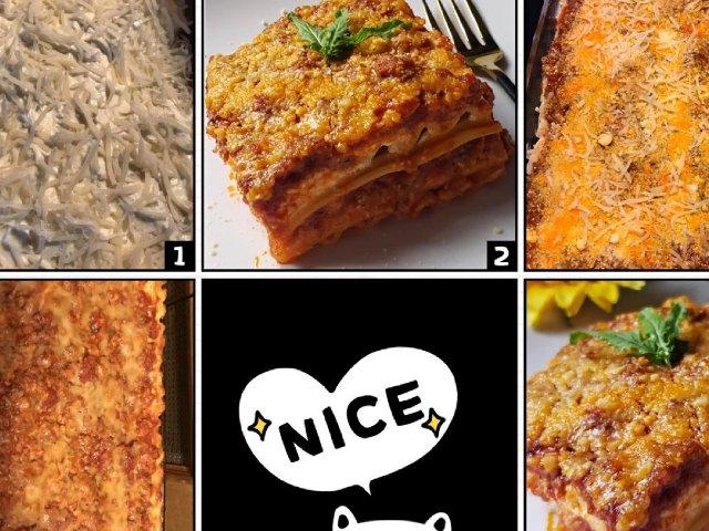 感恩节吃什么之   Lasagna...