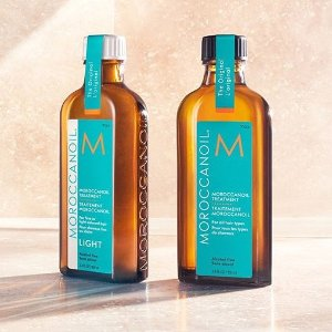 8折+送护发精油!Moroccan Oil 摩洛哥油惊喜大促!套装也参加!