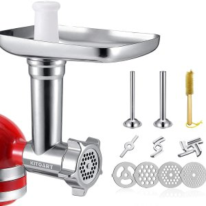 $21.99Metal Food Grinder Attachments for KitchenAid Stand Mixers