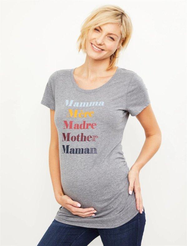 孕妈妈短袖T恤