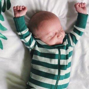 Hanna Andersson 儿童有机棉睡衣促销 绿色棉花不致敏
