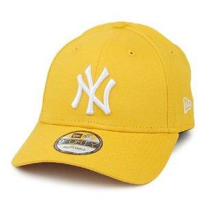 New Era 9FORTY New York Yankees Baseball Cap - MLB Essential - Yellow