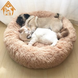 Warm Fleece Dog Bed Round Pet Lounger Cushion For Small Medium Large Dogs Cat Winter Dog Kennel Puppy Mat Pet Bed-in Houses, Kennels & Pens from Home & Garden on Aliexpress.com   Alibaba Group