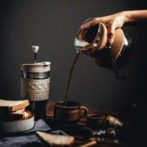 低至4折 透明水杯€7收Bodum 来自丹麦的网红法压壶、旅行杯等热卖 实力与颜值共存