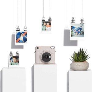 低至7.4折 €96.34收浅蓝色富士 instax Square SQ1 拍立得相机 玩转方形世界 3色可选