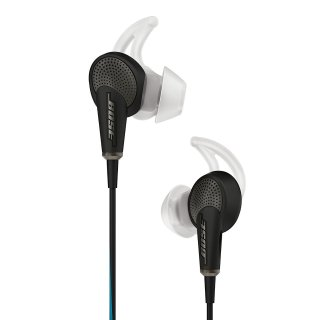 Bose QC20 Noise Cancelling Headphones - Factory Renewed