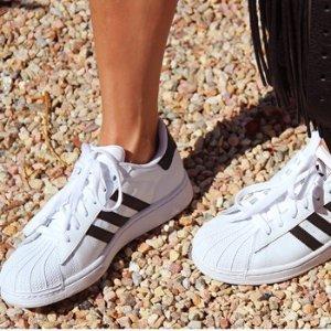 $59.95(原价$80)adidas 三叶草Superstar经典款运动鞋