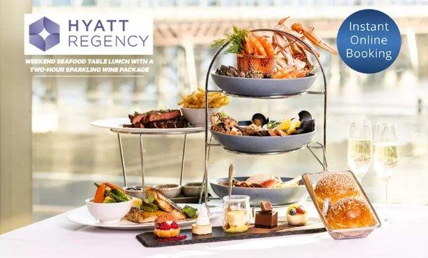 周末海鲜早午餐 餐+酒 5* Hyatt Regency Sydney