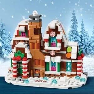 送迷你姜饼屋+限时双倍积分LEGO 十二月限时热卖,大朋友小朋友都喜欢的圣诞礼物