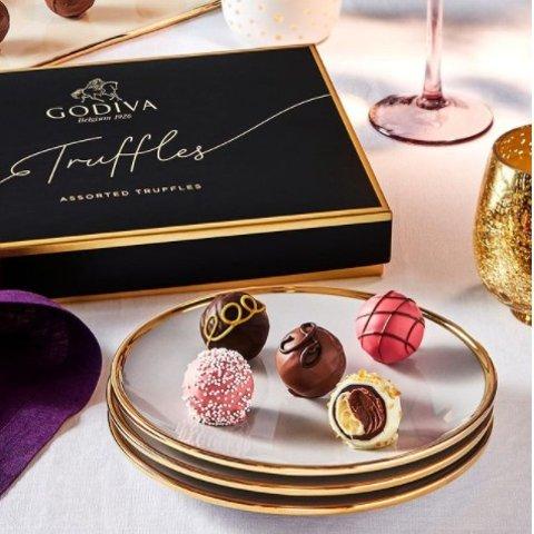 低至5折 118块礼盒仅£27.5Godiva 经典巧克力大促区捡漏 高端巧克力的代名词