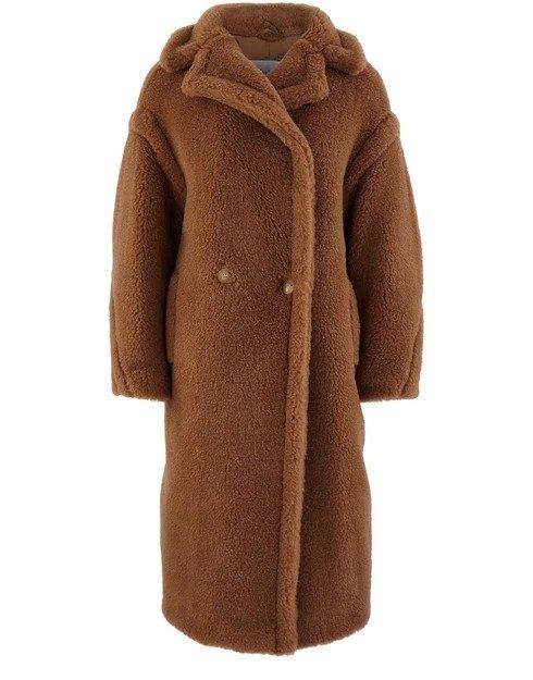 Teddy camel 泰迪长外套
