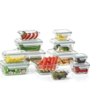 Member's Mark 玻璃食物存储盒 24件套