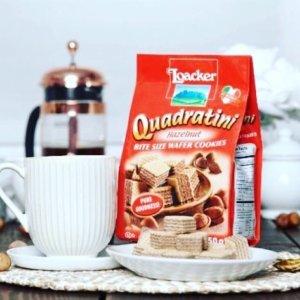 $1.15 (原价$2.3) 下午茶好搭档Loacker 小方块威化 饼干界的小网红