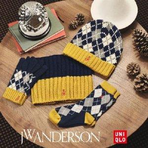 €9.9收两双袜子UNIQLO x JW ANDERSON 首次圣诞联名款正式发售