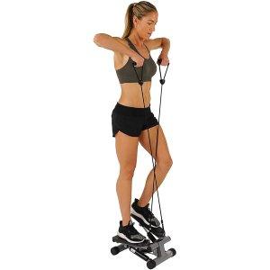 $53.99(原价$79.99)+免邮Amazon官网 Sunny Health & Fitness家用迷你踏步机+拉力带