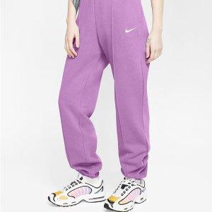 无门槛8折 封面款£31Nike 休闲裤超值价 收新款糖果色Leggings、Swoosh卫衣裤