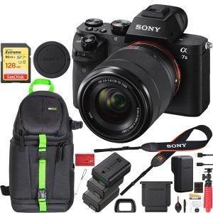 $998Sony Alpha a7II + 28-70mm Lens Bundle & More