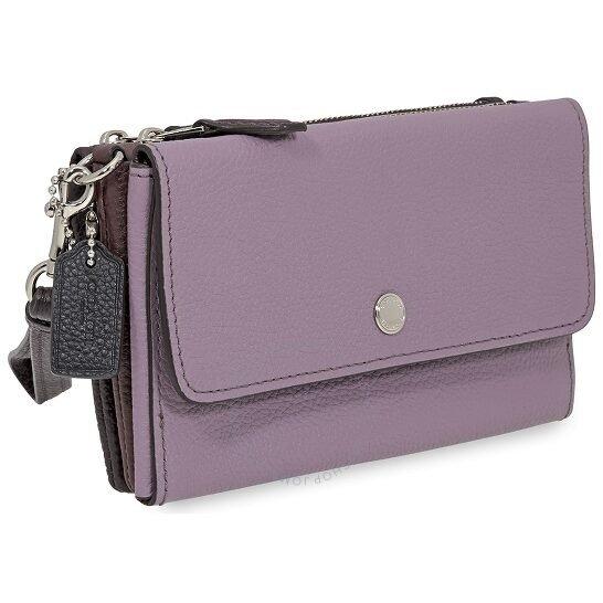 Ladies Triple紫色钱包