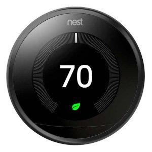 $139收, 智能家庭必备Nest Learning Thermostat 3代智能温控器 超难得好价