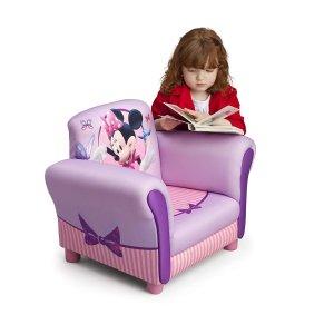 $59.97 (原价$161.89)史低价:Disney 米妮图案儿童单人软垫沙发
