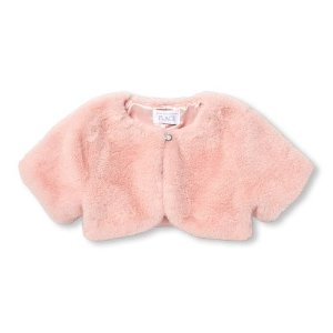 fd8d35fcf The Children's PlaceBaby And Toddler Girls Short Sleeve Faux Fur Shrug.  $9.98 $24.95. The Children's Place Baby ...
