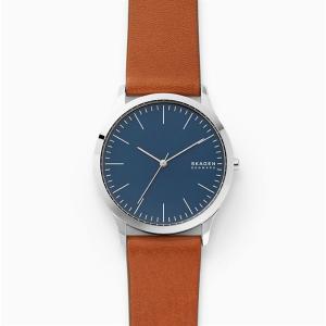 Skagen Jorn Brown Leather Watch