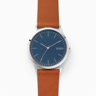Skagen Jorn Brown Leather Watch