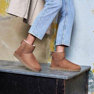 低至5折 冬日必备UGG官网 新年大促 超多新款加入 收雪地靴、豆豆鞋