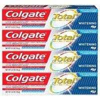Colgate 强效美白牙膏 4.8盎司 4支超值装