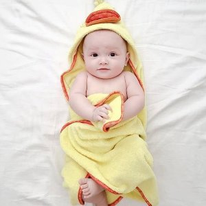 全场8折 $11.98起最后一天:ZOOCCHINI 动物园系列 宝宝日用品 小黄鸭宝宝萌翻全场