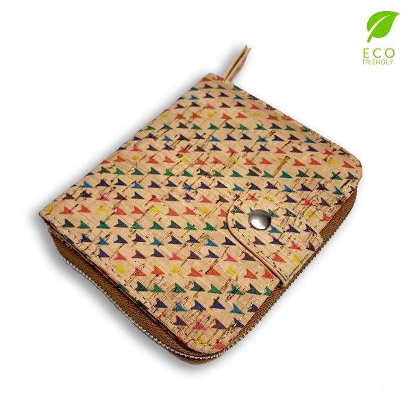 软木材质手工钱包-CKW2