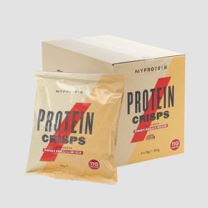6包仅€7.14 烧烤味和甜辣洋葱味MyProtein 健康薯片 每包仅100卡路里 同时补充11g蛋白质