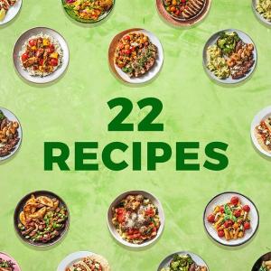 立省$90+首单包邮独家:HelloFresh 每周22种不同食谱 好吃营养新鲜美餐