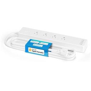 meross Smart Power Strip Compatible with Apple HomeKit, Alexa, Google