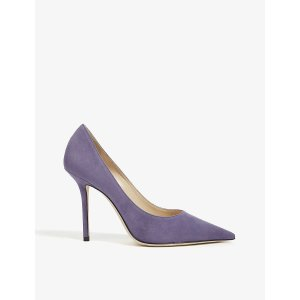 Jimmy ChooLove 100 紫色高跟鞋