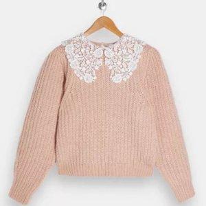 3折起!£10就收上新:Topshop 毛衣针织衫热卖 收秋季温柔时尚感