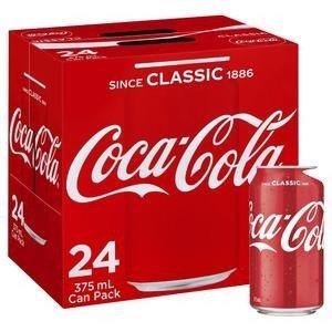 Coca cola网购专享可口可乐 375mL * 24