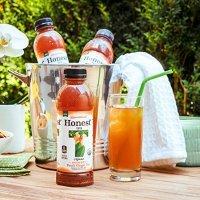 Honest Tea 无糖桃子姜茶 16.9 oz 12瓶