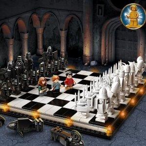 三套现接受预定+双倍积分新品预告:LEGO乐高 x 《哈利波特》20周年纪念 8套新品 收藏款!