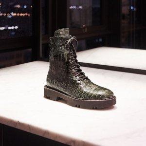 低至3.5折+免邮 $170起Aquatalia 时尚美鞋专场,收封面相似款马丁靴