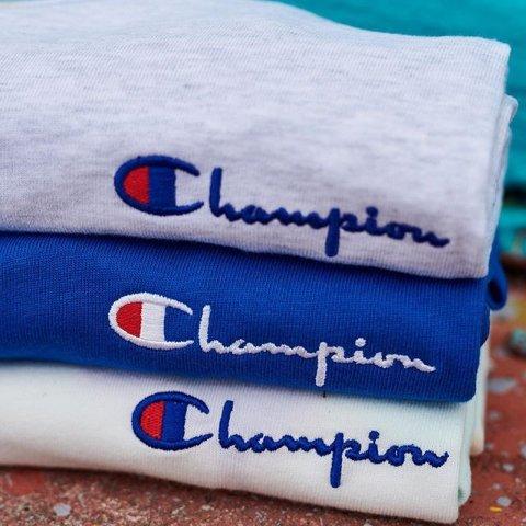 低至7折+额外7折+包邮Champion USA官网 特价区男女潮流运动T恤、卫衣折上折