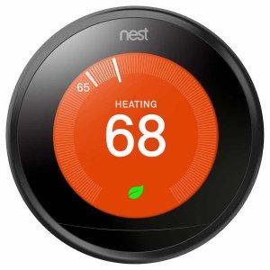 $149.99(原价$249.00)Nest Thermostat 三代智能中央空调恒温控制器