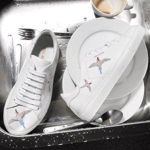 最高享6.2折 老爹鞋$304Axel Arigato 百搭小众白鞋 刺绣蜂鸟款$216