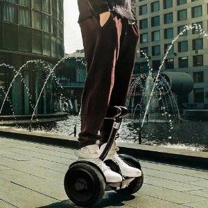 """$540.98(原价$669.95)懒人救星小米 Ninebot Mini 平衡车 谁都能是""""老司机"""""""