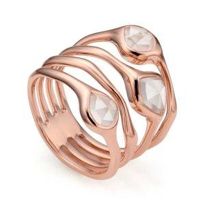 Siren Cluster Cocktail Ring | Monica Vinader