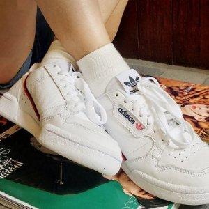 7.5码 $51.7 (原价$120)adidas Originals 男款 C80 复古小白鞋特卖